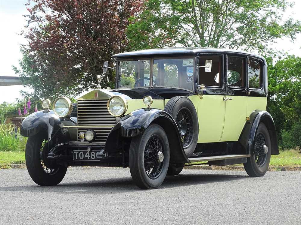 Lot 86 - 1926 Rolls-Royce 20hp Saloon
