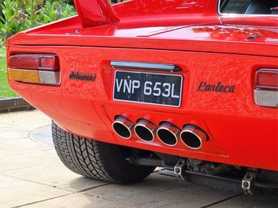 Lot 32 - 1973 De Tomaso Pantera