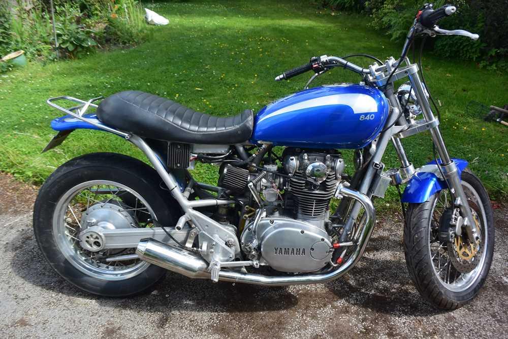 Lot c.1975 Yamaha XS650