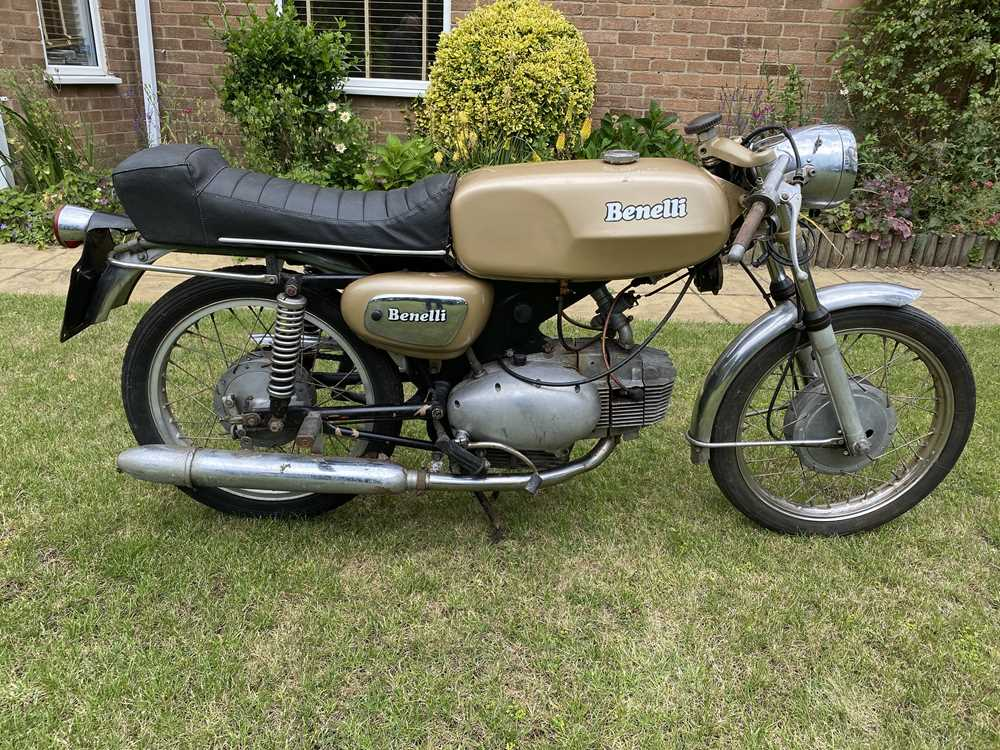 Lot c.1965 Benelli sport special project