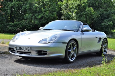Lot 329 - 2004 Porsche Boxster S 550 Spyder