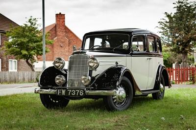 Lot 1936 Vauxhall DX 14/6 Saloon