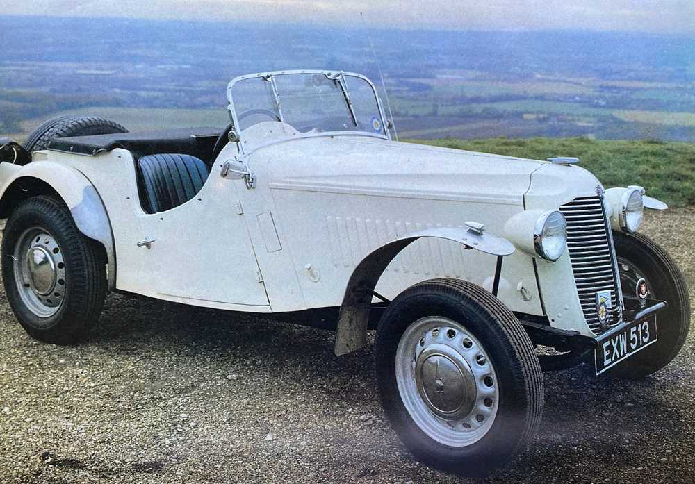 Lot 1938 Vauxhall 12hp Supercharged Trials Special