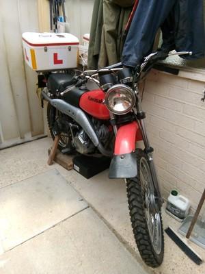 Lot 241 - 1978 Kawasaki KE 125