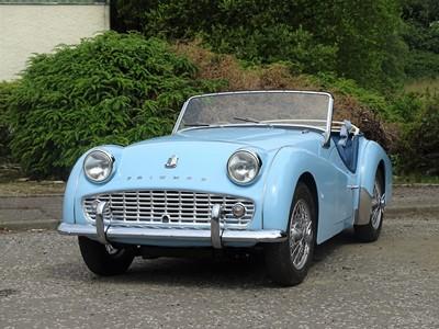 Lot 1958 Triumph TR3A