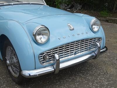 Lot 340 - 1958 Triumph TR3A