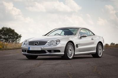 Lot 2002 Mercedes-Benz SL55 AMG