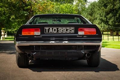 Lot 38 - 1978 Maserati Merak SS