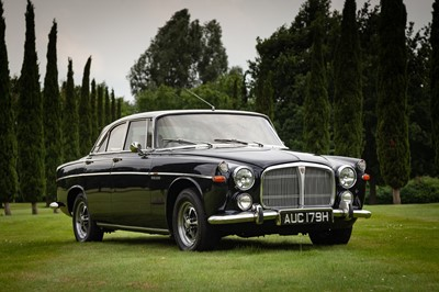 Lot 1969 Rover P5B Coupe