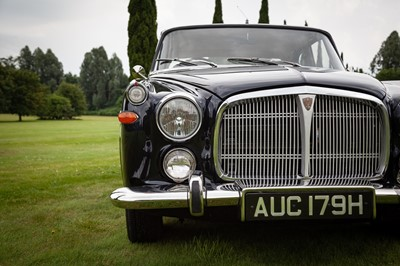 Lot 71 - 1969 Rover P5B Coupe