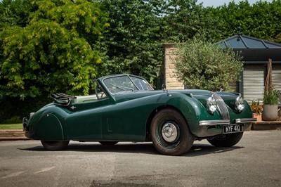 Lot 1953 Jaguar XK120 Drophead Coupe