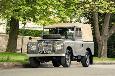 Lot 1970 Land Rover 88 Series IIA