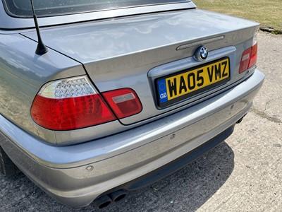 Lot 347 - 2005 BMW 320i M Sport Cabriolet