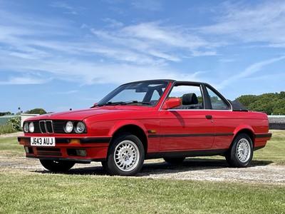 Lot 1991 BMW 318i Baur Cabriolet
