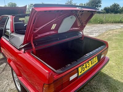 Lot 318 - 1991 BMW 318i Baur Cabriolet