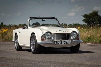Lot 41 - 1964 Triumph TR4
