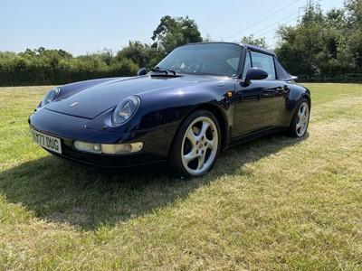 Lot 1995 Porsche 911 Carrera 2 Cabriolet