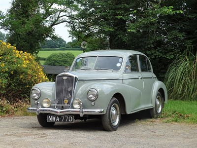 Lot 1951 Wolseley 4/50 Saloon