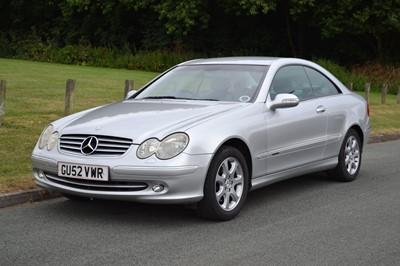 Lot 2003 Mercedes-Benz CLK 240 Elegance