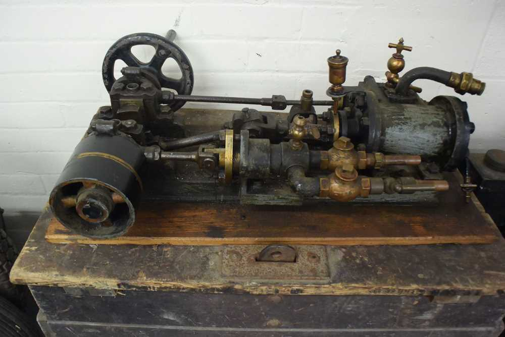 Lot 172 - Small Steam Engine