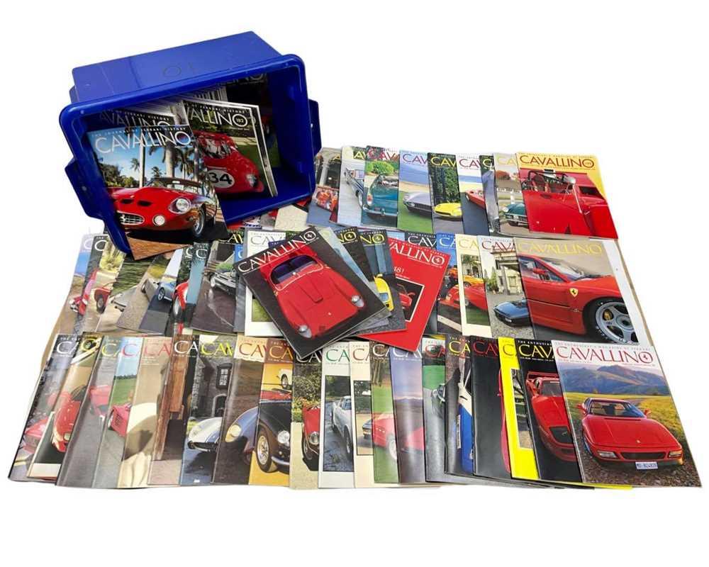 Lot 100 - Quantity of Cavallino Ferrari Magazines