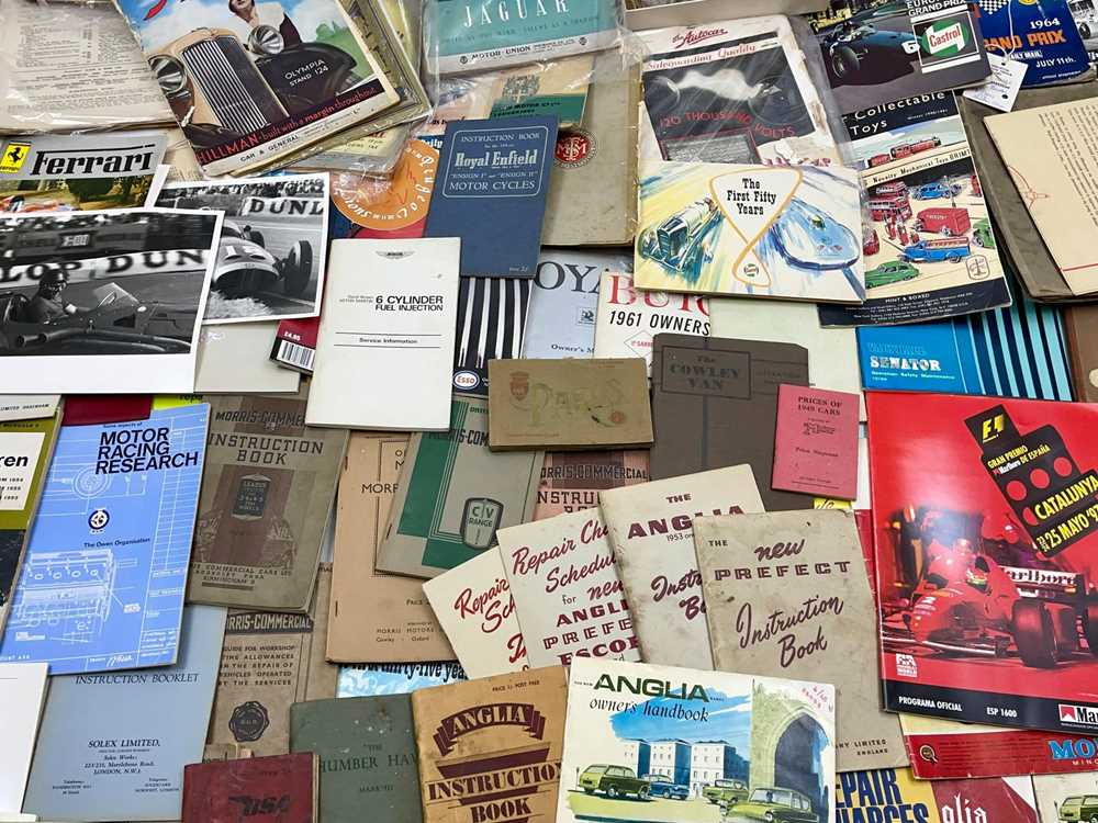 Lot 101 - Two Boxes of Assorted Literature