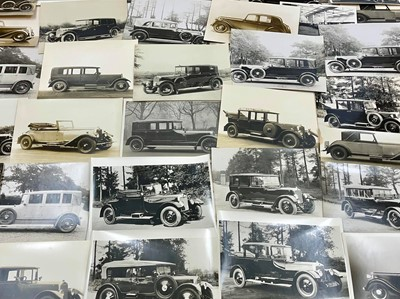 Lot 106 - Period Photographs Depicting Lanchester Cars
