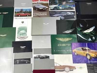Lot 111 - Quantity of Aston Martin Sales Brochures