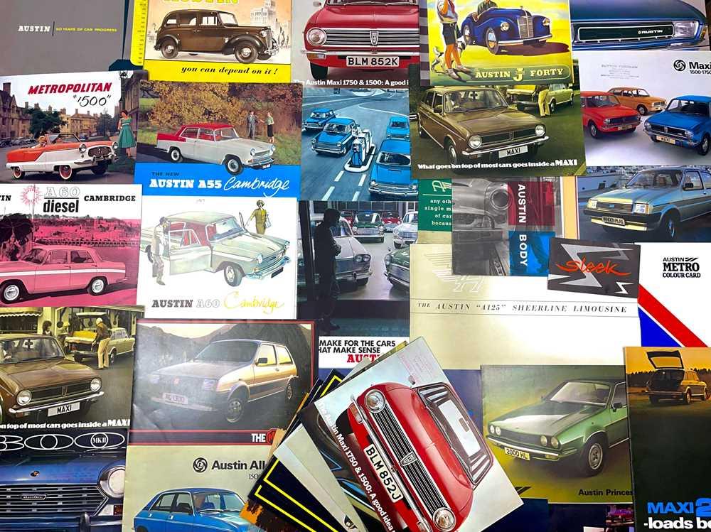Lot 115 - Quantity of Austin Sales Brochures