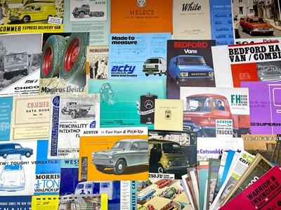 Lot 116 - Quantity of Commercial Vehicle Sales Brochures