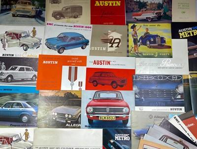 Lot 118 - Quantity of Austin Sales Brochures