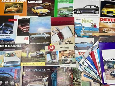 Lot 124 - Quantity of Vauxhall Sales Brochures