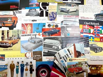 Lot 127 - Quantity of Assorted Sales Brochures