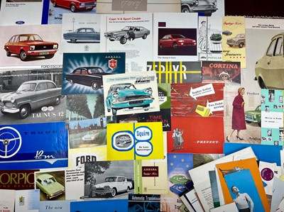 Lot 128 - Quantity of Ford Sales Brochures