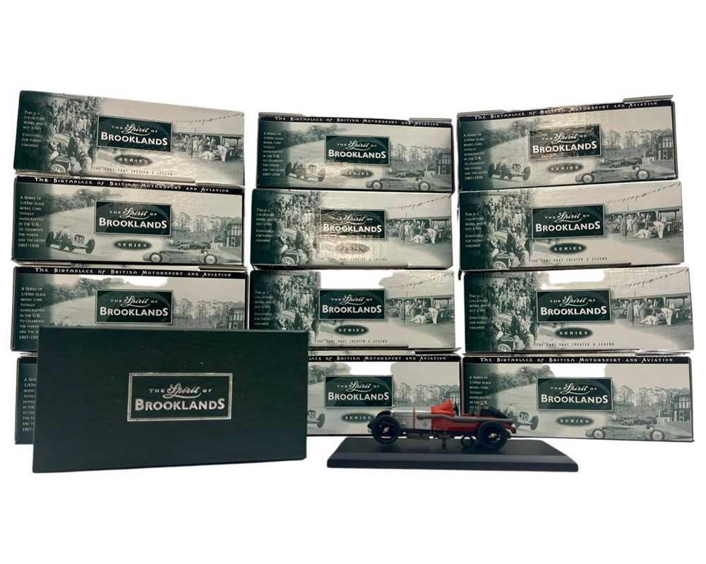 Lot 146 - 'Spirit of Brooklands' Boxed Model Set