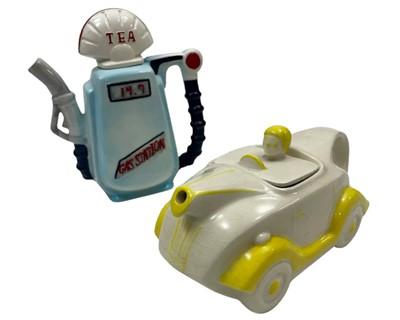 Lot 149 - Two Motoring Tea Pots