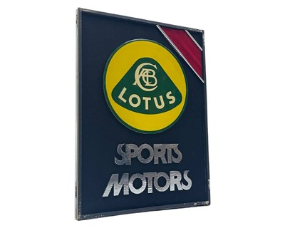 Lot 160 - Sports Motors (Manchester) Ltd Showroom Display Sign