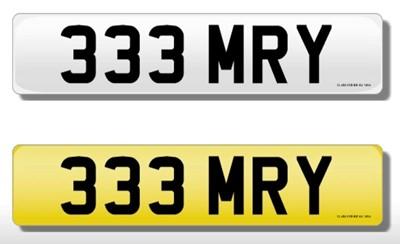 Lot 164 - Registration Number - 333 MRY