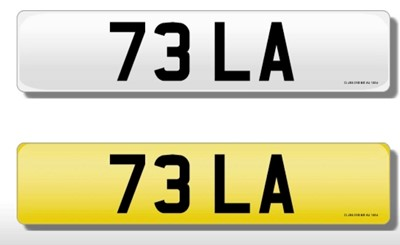 Lot 165 - Registration Number - 73 LA