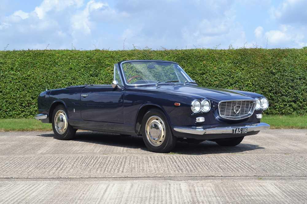 Lot 16 - 1964 Lancia Flavia Vignale Convertible