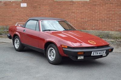 Lot 4 - 1979 Triumph TR7 30th Anniversary