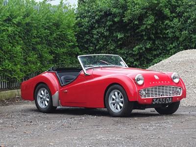 Lot 36 - 1959 Triumph TR3A
