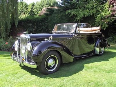 Lot 62 - 1954 Alvis TC21/100 Drophead Coupe