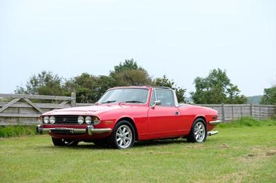 Lot 94 - 1977 Triumph Stag