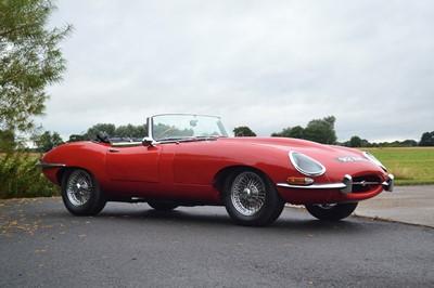 Lot 59 - 1962 Jaguar E-Type 3.8 Roadster
