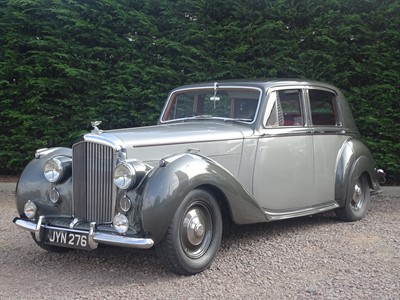 Lot 53 - 1948 Bentley MK VI Saloon