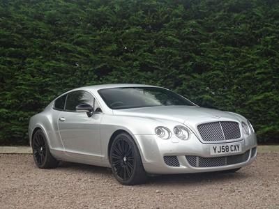 Lot 54 - 2008 Bentley Continental GT Speed
