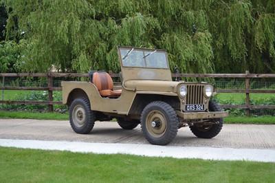 Lot 92 - 1946 Willys CJ-2A Jeep