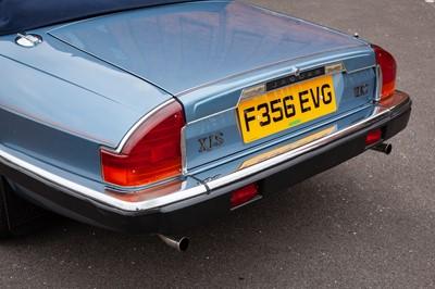 Lot 21 - 1989 Jaguar XJ-S V12 Convertible
