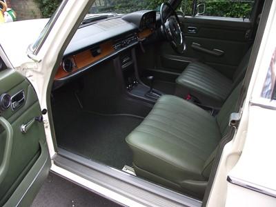 Lot 20 - 1972 Mercedes-Benz 250 Saloon
